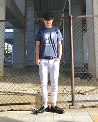 ★masaki★ - Newyorkhat Brondo, David Bowie Heroes, Kill City Jeans, Dr. Martens Lofers - Become heroes