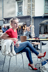 Darya KHENDRIK -  - The afterwork in a french colors