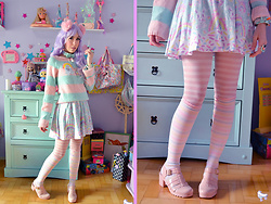 Luly Pastel Cubes - Petite Jolie Jelly, Holley Tea Time Skater - Ice cream medicine