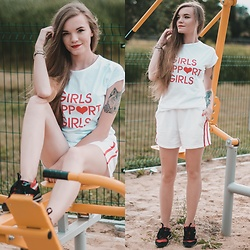Karolina N. - Zoio T Shirt, Zaful Shorts, Reebok Sneakers - GIRLS SUPPORT GIRLS