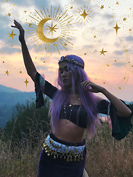 Sera Brand - Stardust Bohemian Festival Fairy Bandeau - Make your own Magic★