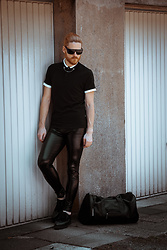 Maik - Kiomi Shirt, Kapow Meggings, Diesel Shoes, Porsche Design Sunglasses - Dark summer
