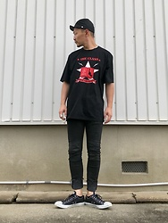 ★masaki★ - Newyorkhat Civil War, The Clash Know Your Rights, Neuwdenim Iggy, Converse Allstar - Know Your Rights