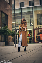 Anastasia Va - Mango Coat, Pull&Bear Jeans, Zara Shoes - Sunday