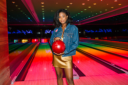 Ria Michelle - Levi's® Basement Babes Jacket, Reformation Silk Tank Dress - Basement Babes at the Miami Beach Edition