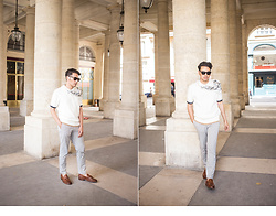 Ronan Summers - Givenchy Square Sunglasses - Browns and Creams