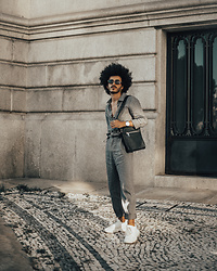 Marco Moura - Zara Sneakers, Zara Jumpsuit, Zara Bag - I live for jumpsuits