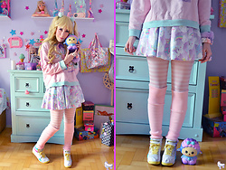 Luly Pastel Cubes - Reebok Pastels, Milklim Cotton Candy, Slowrising Squishy Usa Sheep - Dear friend