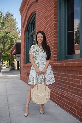 Kimberly Kong - Chicwish Floral White Dress - Is Chicwish Clothing Legit? My Thoughts