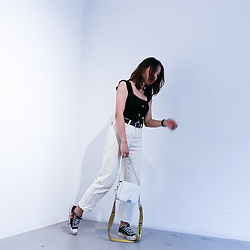 Diana Nguyen - Off White Crossbody Bag, Cdg X Converse - Goodbye