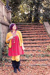 Ninaah Bulles - Grain De Malice Dress, Grain De Malice Jacket, Yours Boots - Fall equinox