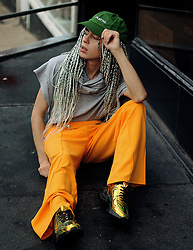 Milex X - Anarchy Hat, Kult Prit T Shirt, Cameo Rose Pants, Ego Shoes - KULT PRIT