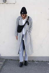 Kajsa Svensson - Make Way Autumn Rock, Levis Jeans, Only Boot, Samsoe Beanie - OCTOBER VIBES