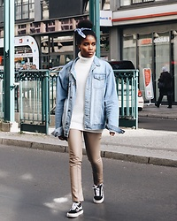 Nelly Negret - Vans Shoes, Asos Jeans Jacket - Autumn ready!