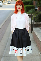 Bleu Avenue - Unique Vintage Barbie Skirt - Barbie Life