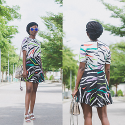 Oroma Roxella Rukevwe -  - ZEBRA SHIFT DRESS