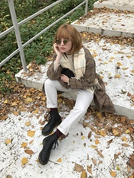 Kristina Magdalina - Garrett Leight Wilson M Sunglasses - What I Wear This Fall