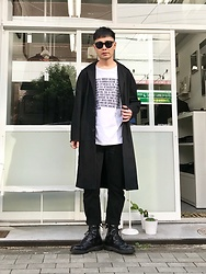 ★masaki★ - Neuw Denim Relaxed Coat, Neuw Denim Studio Relaxed, Paying A Fair Shar Massege Tee, Dr. Martens Mono - Relaxed