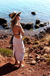 Anna Borisovna - H&M Hat, H&M Bikini, H&M Skirt, Nomadic State Of Mind Shoes - The Summer Look