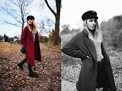 Gabriela Kugla - Na Kd Coat, Dr. Martens Shoes, Michael Kors Bag, Tommy Hilfiger Hat - Be yourself