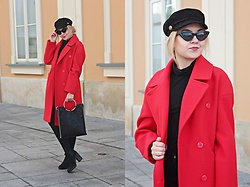 Sabina S. -  - RED COAT