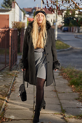 Marta Caban - Orsay Coat, Orsay Skirt, Orsay Bag, Orsay Shoes - BLACK LOVE