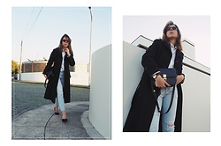 Maria Marques -  - BLACK VINTAGE COAT