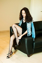 Camilla Brozzo - Damyller Jacket, Damyller Dress, Arezzo Heels - Take it off