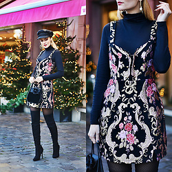 Ruxandra Ioana - For Love & Lemons Dress - Santa Baby