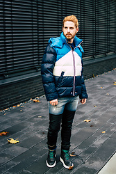 Maik - Diesel Jacket, Diesel Jeans, Diesel Boots - Quited jacket for cold winterdays