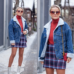 Cristina Tabun - Zaful Jacket, Zaful Skirt - Denim lover
