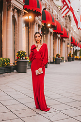 Maria De La Cruz -  - RED HOLIDAY DRESS
