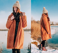 Halvmåner Blog - Shein - Teddy coat