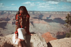 Ali D - Zara Western Jacket - Grand Canyon
