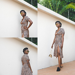 Oroma Roxella Rukevwe -  - ANIMAL PRINT DRESS