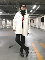 ★masaki★ - H&M Maison Margiela, Neuw Denim Iggy, Dr. Martens 3hole - Know Your Rights