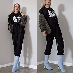 . . - Vetements Sock Heel, Supreme Collab Tee, Undercover Collab Tee - Peep of Color