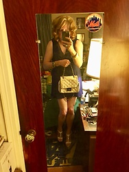 Jennifer S - H&M Short Dress, Steve Madden High Heel Sandals, Macy's Bag - Waiting For Spring & Summer