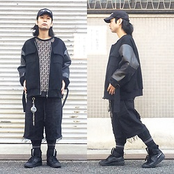 @KiD - (K)Ollaps Noise Misic, Ajl Mad House Sweat Tops, Code Jacket, Code Wide Crust Shorts, Vivienne Westwood Cigarette Case, Puma Mcq - JapaneseTrash484