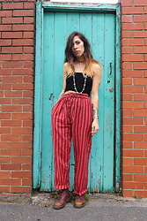 Sarah Nicola Louise - Adorned Super Cool Stripes - Here Comes the Sun - The Beatles