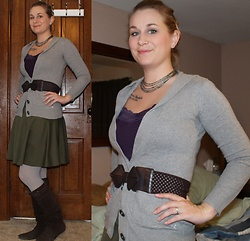 Erin Solberg -  - Grey and Olive Casual