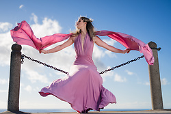 Caitlyn Sway - Pink Infinity Dress - Infinity Dress