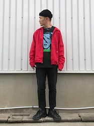 ★masaki★ - Dickies 90's Vintage, Fifth Element Tee, Levi's® Vintge, Nike Air Monarch - FIFTH ELEMENT