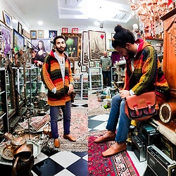 Fouad joy -  - In the chaos of antiques , it had always held the feeling of