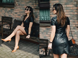 Ola Wiecha -  - Leather dress