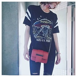 Chii - Forever 21 Tee, Asos Jeans - Casual outfit