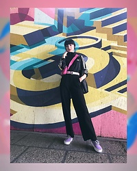 Isabelle Khr - Vans Checkerboard, Adidas Jumpsuit - Candy.Crush