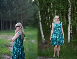 Kamila Krawczyk - Zara Dress - Spring love