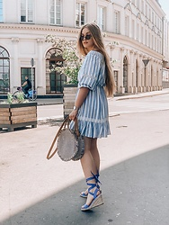 Marta Caban - Orsay Dress, Orsay Bag, Orsay Shoes - SUMMER IN THE CITY