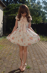 Nowaki Selenocosmia - Liz Lisa Ll Jumperskirt, Blouse, Liz Lisa Pink Flower Sandals - Soft shades